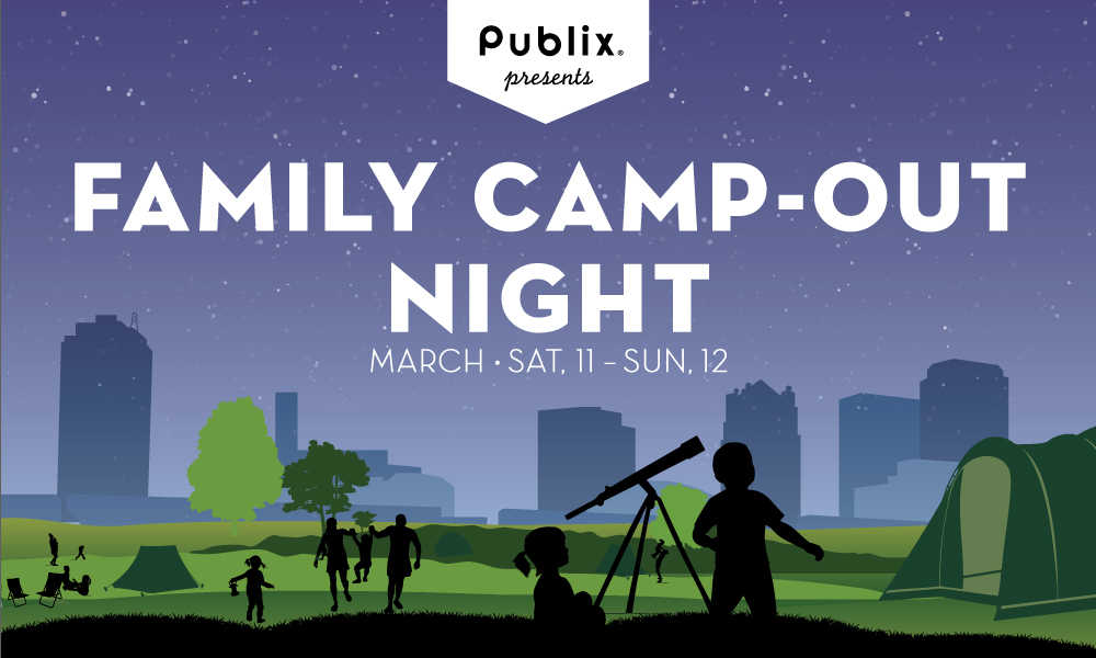 Publix presents Family Camp Out Night - Click Here