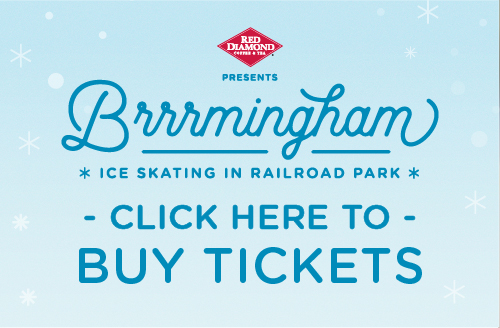 Buy tickets to railroad park's ice skating this winter, 2017