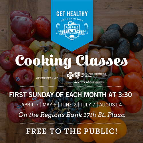 RRP Get Healthy Cooking Classes Sponsored by Blue Cross Blue Shield of Alabama