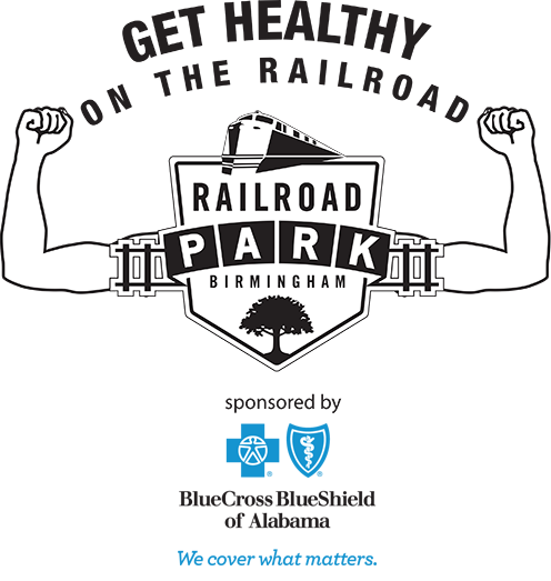 Get Healthy on the Railroad sponsored by Blue Cross Blue Shield of Alabama
