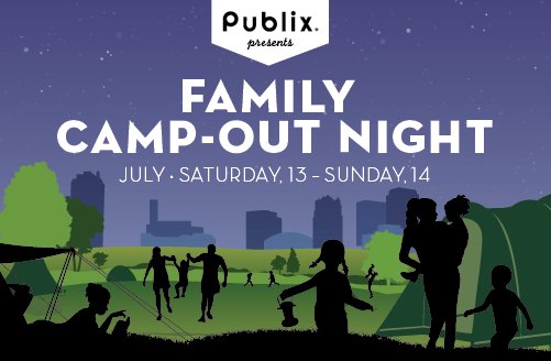 Publix presents Family Camp-out Night 2019